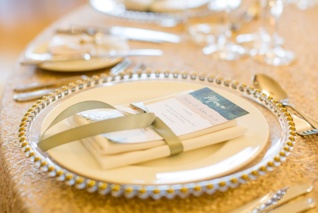 Wedding Place Settings Personalised